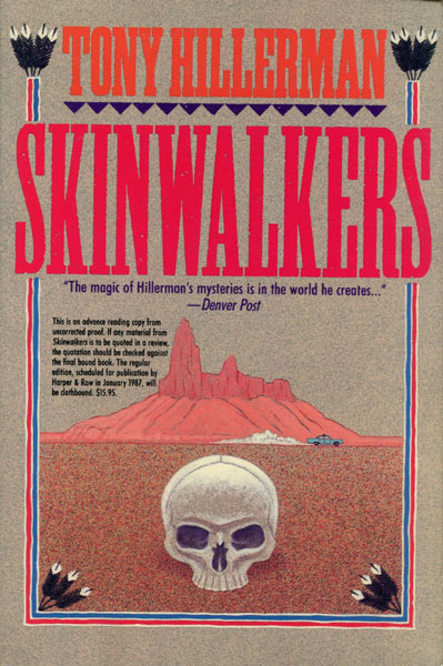 Skinwalkers. by Tony. Hillerman