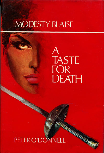A Taste For Death. by Peter. O'Donnell