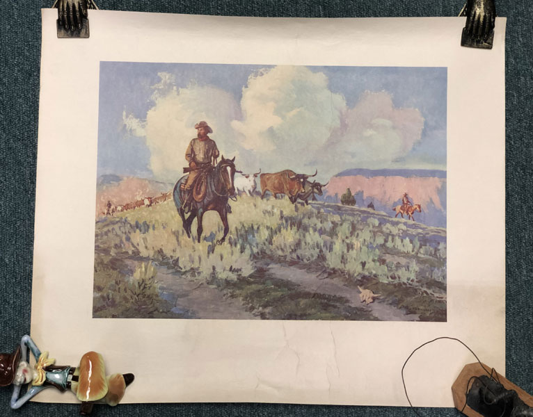 "16 3/4"" X 20"" Color Print By Harold D. Bugbee by Harold D Bugbee"