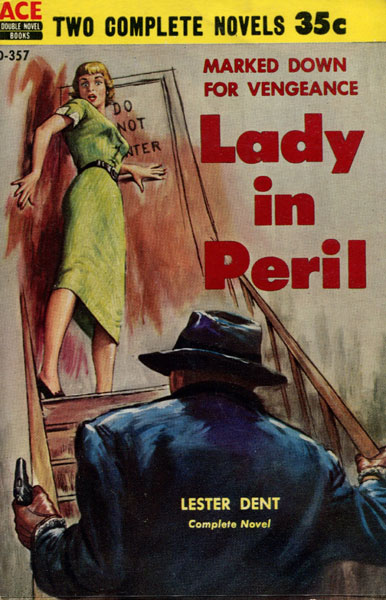 Lady In Peril. by Lester. Dent
