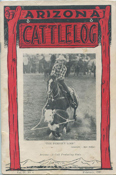 Arizona Cattlelog.  Mrs. J.M. Keith [Managing Editor]