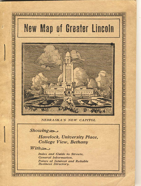 New Map Of Greater Lincoln. Map