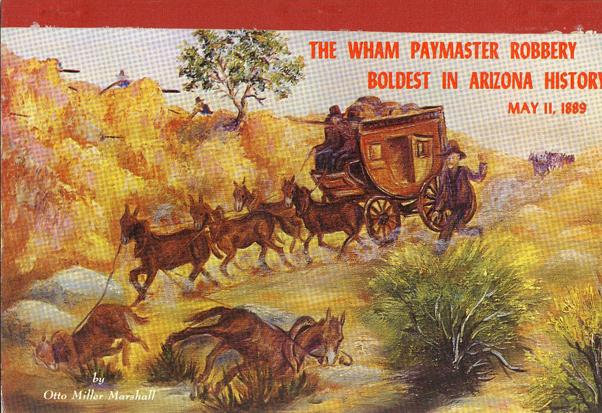 The Wham Paymaster Robbery by  Otto Miller Marshall