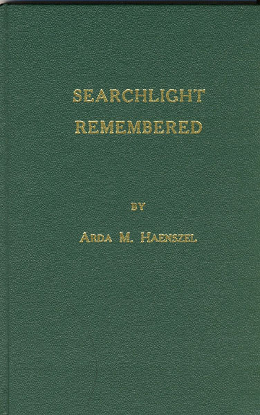 Searchlight Remembered.  by  Arda M. Haenszel