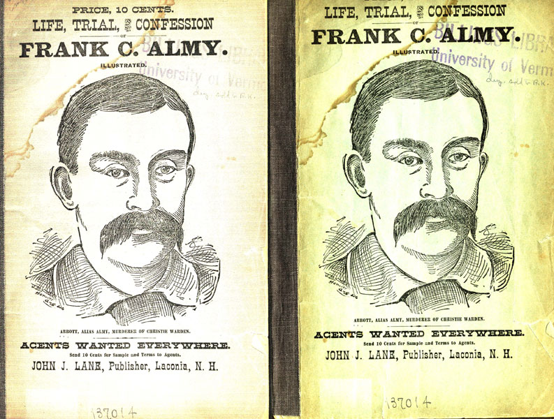 Life, Trial, And Confession Of Frank C. Almy by  Frank C Almy