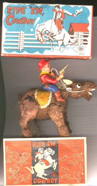 Wind-Up Ride 'Em Cowboy! Toy
