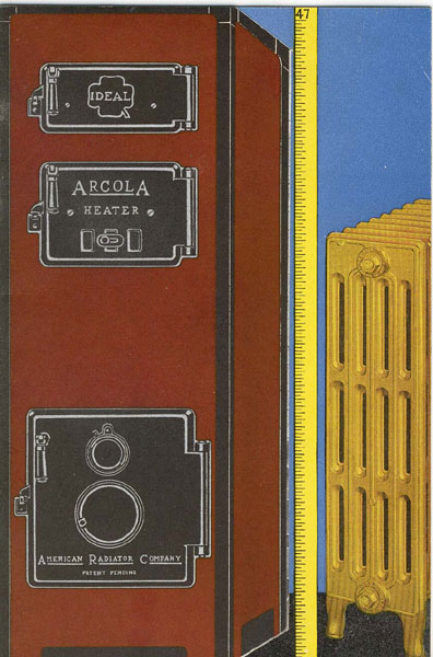 Arcola. The American Radiator Heating Outfit ... For Small Homes, Old Or New American Radiator Company