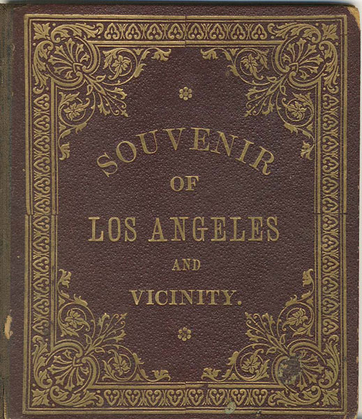 Souvenir Of Los Angeles And Vicinity