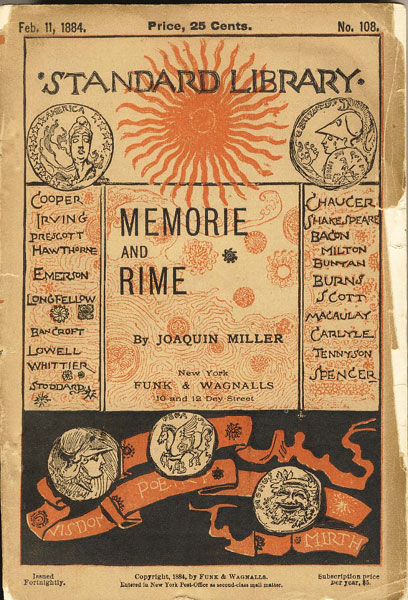 Memorie And Rime by  Joaquin Miller