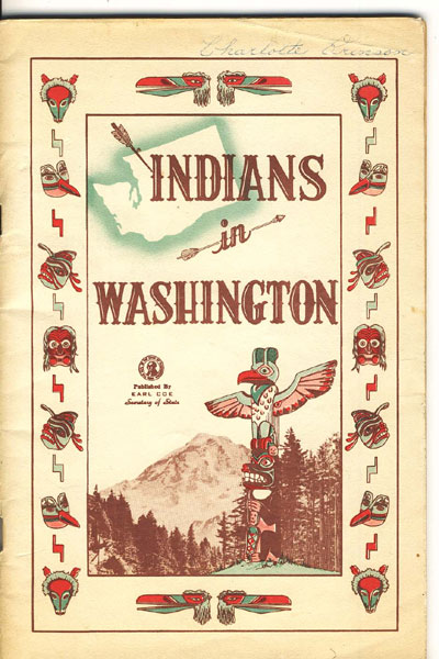 Indians In Washington by  Earl, Secretary Of State Coe