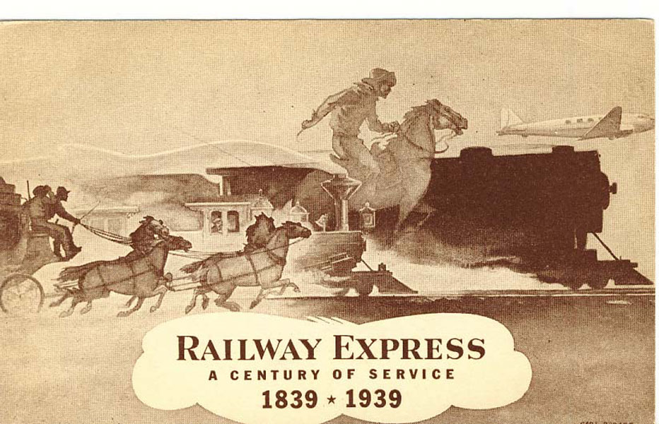 Railway Express - A Century Of Service - 1839 - 1939 by  Carl Burger