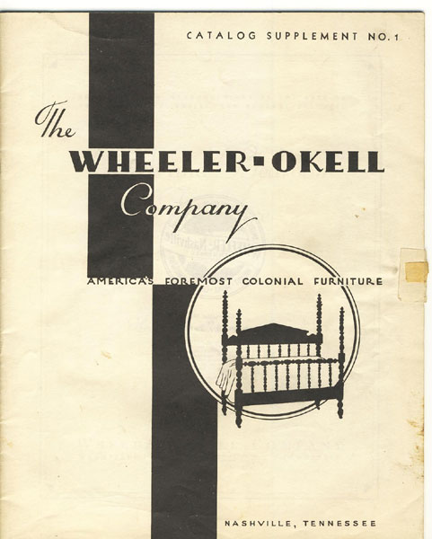 The Wheeler Okell Company. Americau0027s Foremost Colonial Furniture. Beds And  Bedroom Furniture In Mahogany, Maple, Walnut, Cherry, ...
