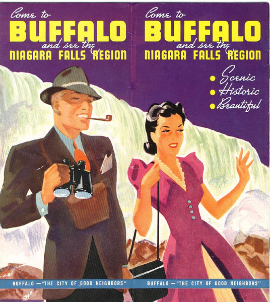 Come To Buffalo And See The Niagara Falls Region Board Of Publicity Of The City Of Buffalo