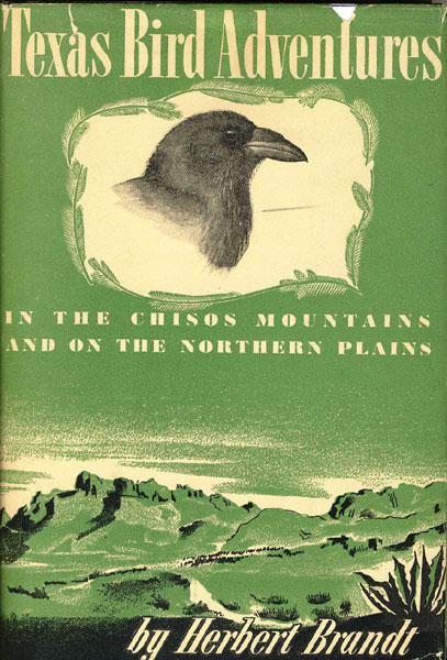 Texas Bird Adventures In The Chisos Mountains And On The Northern Plains by  Herbert Brandt