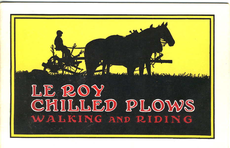 Le Roy Chilled Plows. Gang, Two-Way And Walking Plows, Le Roy Shovel Plows, Hillers 