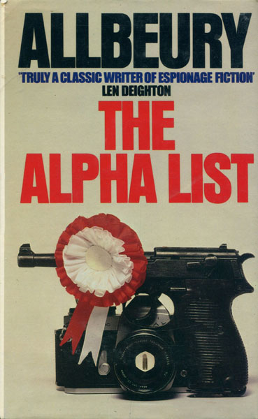 The Alpha List. by  Ted. Allbeury