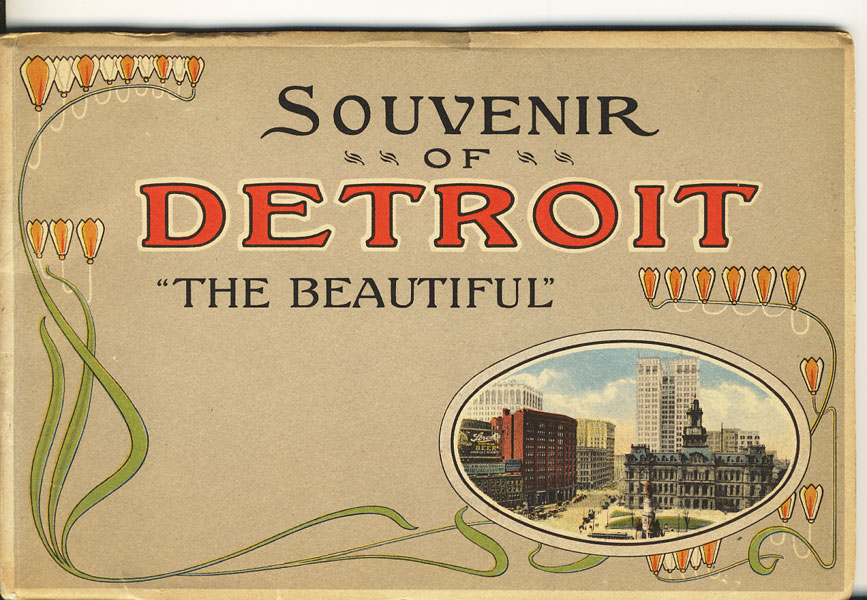 "Souvenir Of Detroit ""The Beautiful"""