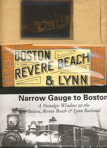 Boston, Revere Beach & Lynn Railroad Engine Glass Negatives by  Revere Beach & Lynn Railroad Company Boston