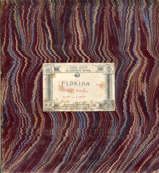 A New Sectional Map Of Florida, November 1917. Issued By The Department Of Agriculture by Department Of Agriculture