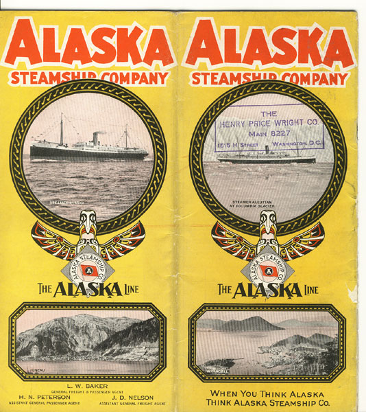Alaska Steamship Company, The Alaska Line. When You Think Alaska, Think Alaska Steamship Co by Alaska Steamship Company