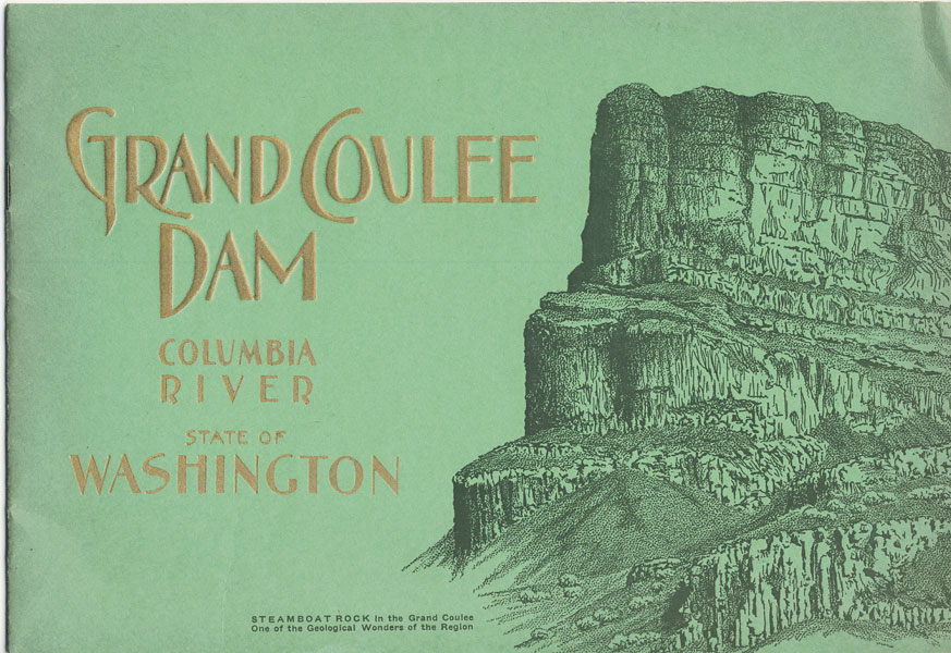 Grand Coulee Dam. Columbia River. State Of Washington
