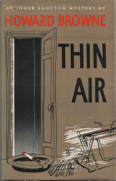 Thin Air by  Howard Browne