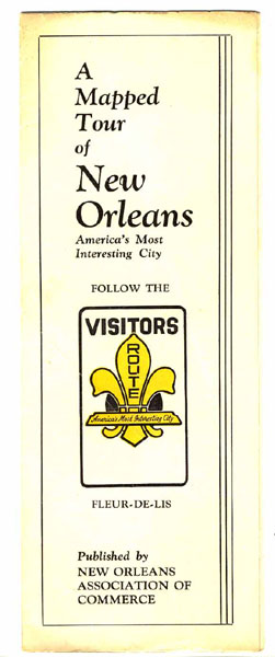 A Mapped Tour Of New Orleans America's Most Interesting City. Follow The Visitors Route.
