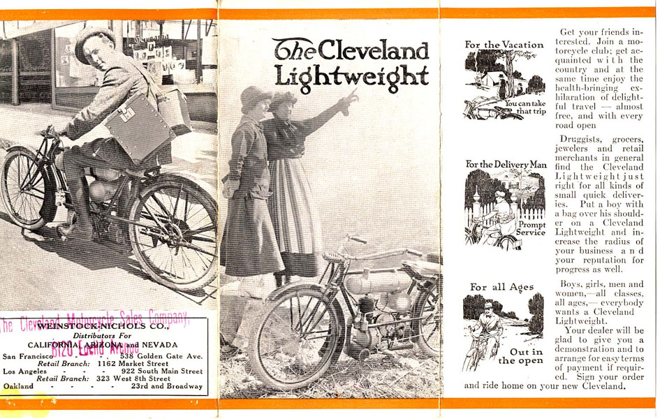The Cleveland Lightweight Motorcycle by The Cleveland Motorcycle ...