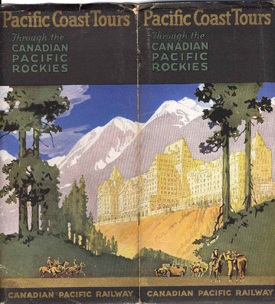 Pacific Coast Tours Through The Canadian Pacific Rockies Canadian Pacific Railway