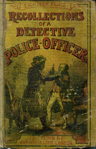 "Recollections Of A Detective Police-Officer by ""Waters"""
