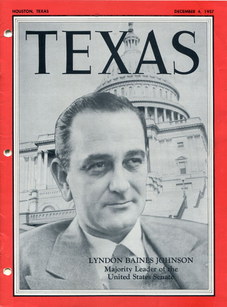 Magazine - Lyndon Baines Johnson, Majority Leader Of The United States Senate