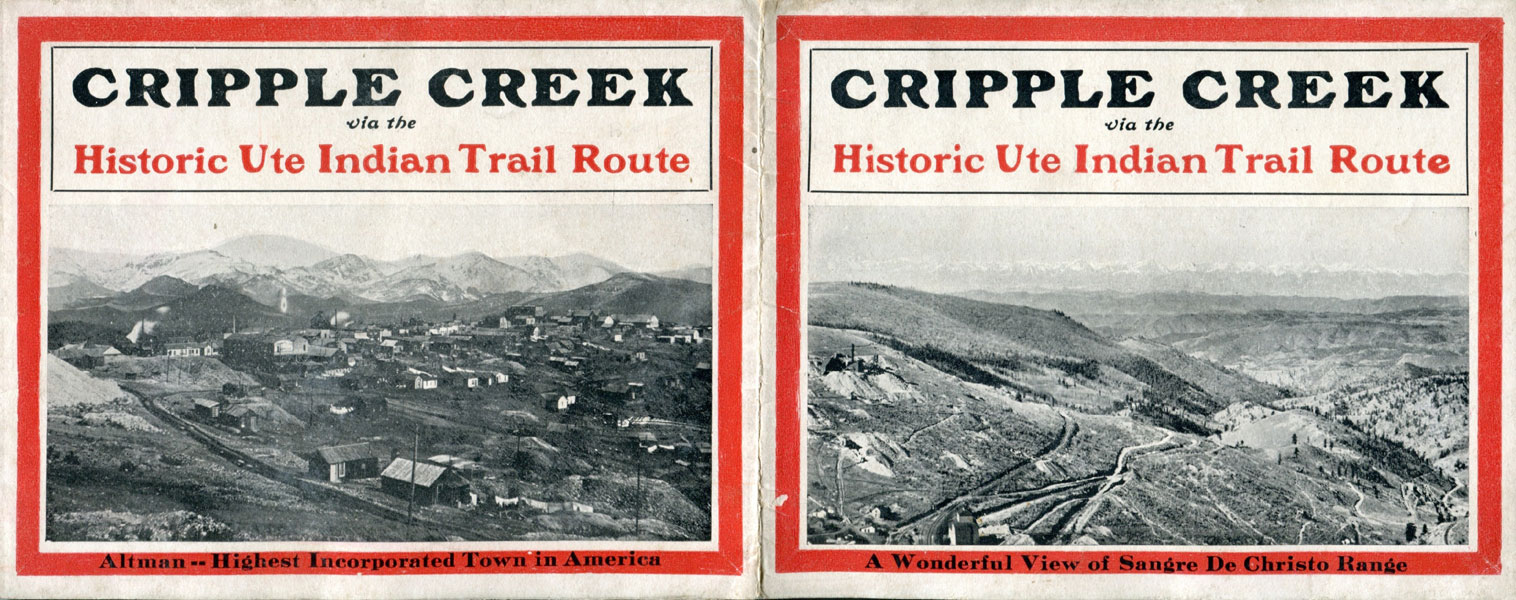 Cripple Creek Via The Historic Ute Indian Trail Route.