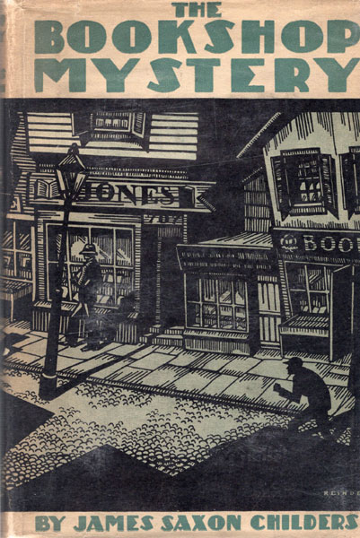 The Bookshop Mystery by  James Saxon Childers
