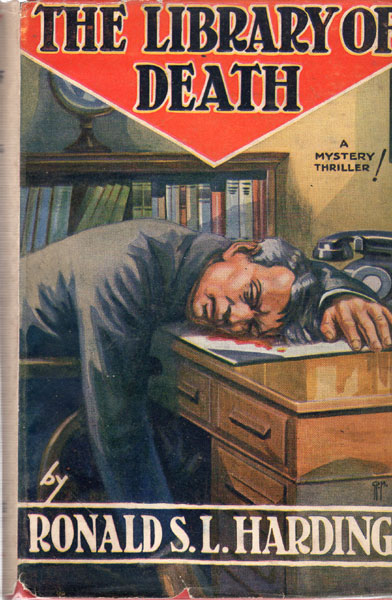 The Library Of Death by  Ronald S. L. Harding