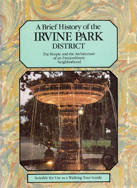 A Brief History Of The Irvine Park District  The People And
