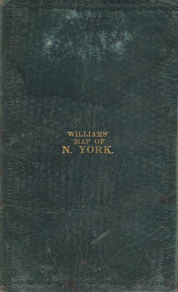 Williams Map Of N. York by  William Williams