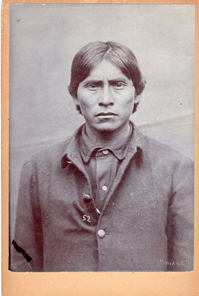 The Apache Kid Cabinet Card by Anonymous