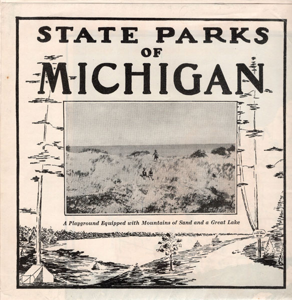 State Parks Of Michigan Department Of Conservation, Lansing, Michigan