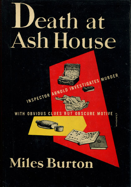 Death At Ash House. by Miles. Burton