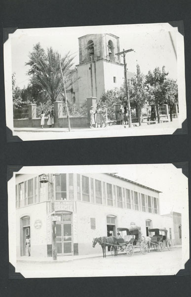 Photograph Album Containing Over 370 Images Of An American Expatriate Community Living In Coahuila, Mexico And Working In Local Industry During The Great Depression, 1936-1937 by Family Unknown