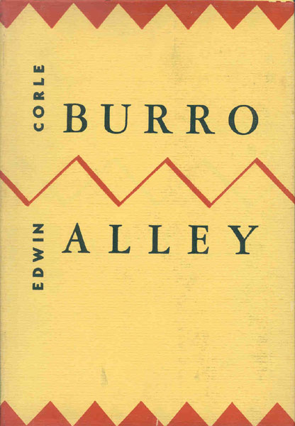 Burro Alley by  Edwin Corle
