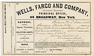 "Document Describing The Shipment Of ""1 Pckge Gold Bullion Valued At Thirteen Thousand Five Hundred Dollars."" Montana-Wells Fargo Gold Bullion Shipment"
