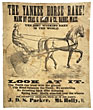 "21"" X 24 1/2"" Linen Broadside. The Yankee Horse Rake! Made By Chas. G. Allen & Co., Barre, Mass by Chas. G. Allen & C0."