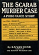 The Scarab Murder Case. by S.S. Van Dine