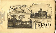 Souvenir Of Fargo, North Dakota. Photo-Gravures