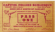Capitol Follies Burlesque Theatre …