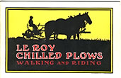 Le Roy Chilled Plows. …