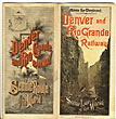Across The Continent. Scenic Line Of The World Denver & Rio Grande Railway