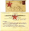 Dayton Star Nurseries Typed Letter Dated March 25th, 1885, On Company Stationery by  Dayton, Ohio Dayton Star Nurseries