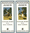 Augusta Aiken. Outdoor Sports In A Mild Climate Southern Railway System